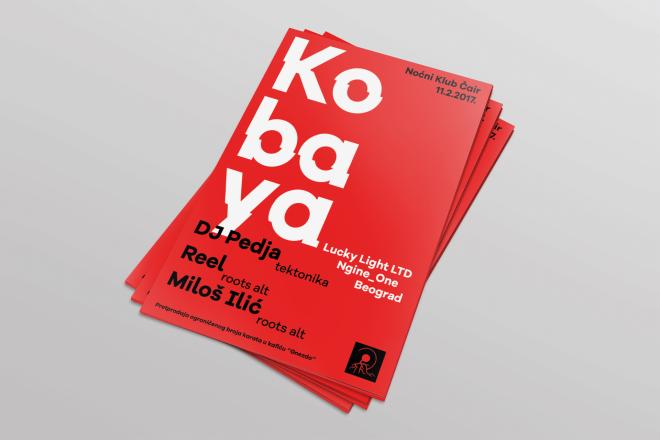 Kobaya Flyers Mockup