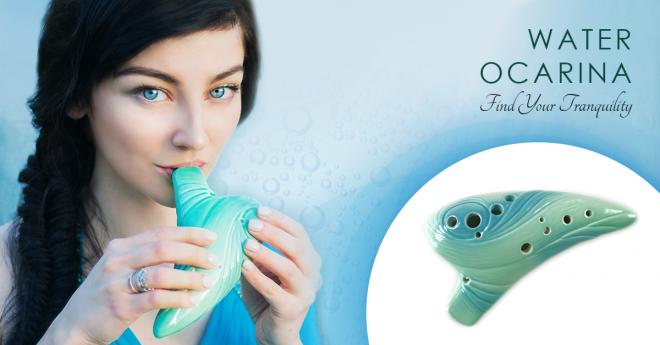 Water Ocarina Ad